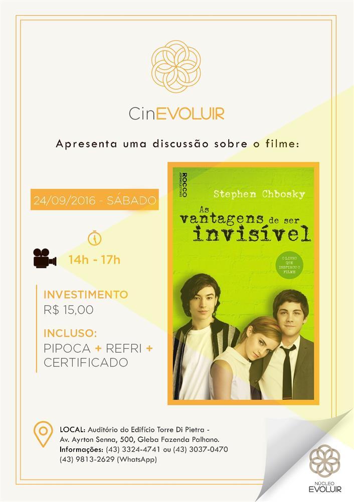 CinEvoluir aborda campanha Setembro Amarelo